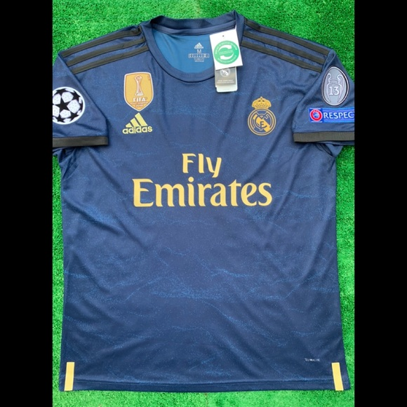 new product 67abe d1f3b 19/20 Real Madrid away soccer jersey MODRIC Adidas NWT